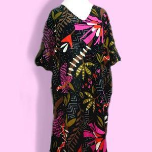 Gudrun Sjoren Tropical Tunic Beach Dress NWT